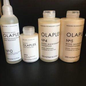 OLAPLEX No 0, 3, 4 & 5 Bundle NWT
